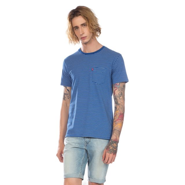 Camiseta-Levi's®-Sunset-Classic-Pocket