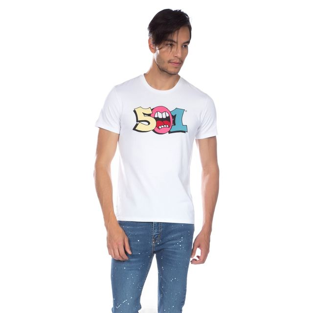 Camiseta-Levi's®-501®-Graphic