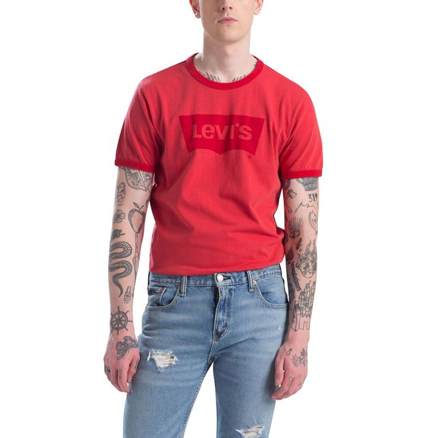 Camiseta-Levi's®-Sunset-Ringer-Housemark