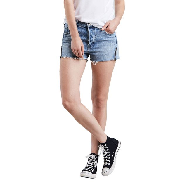 Shorts-Jeans-Levis-501--Altered-Zip