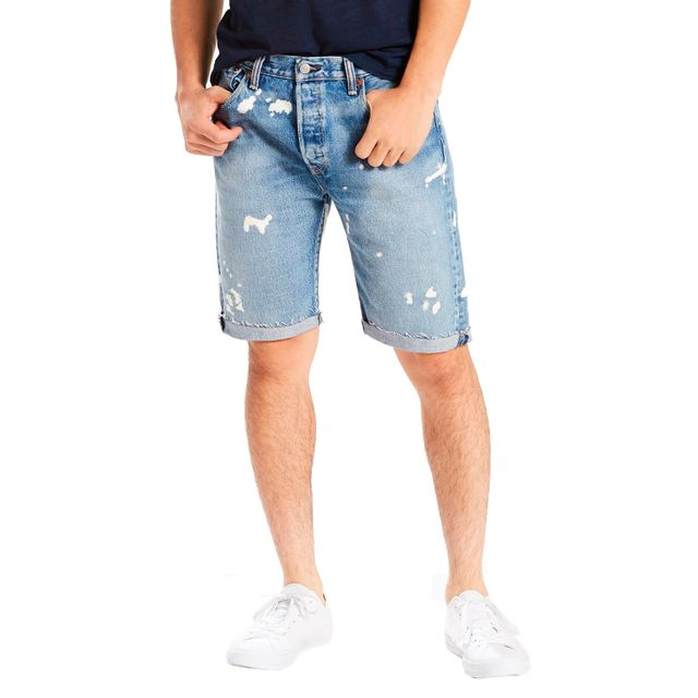 Bermuda-Jeans-Levis-501-Original-Cut-Off