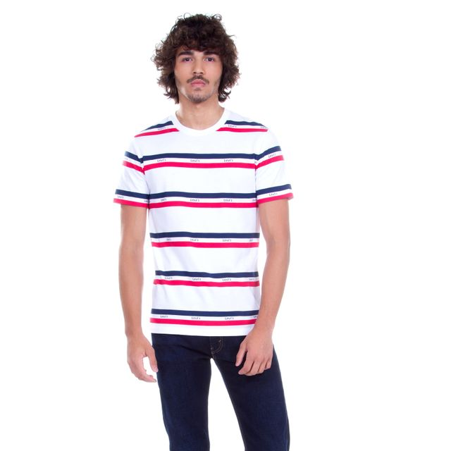 Camiseta-Levis-Logo-Stripped