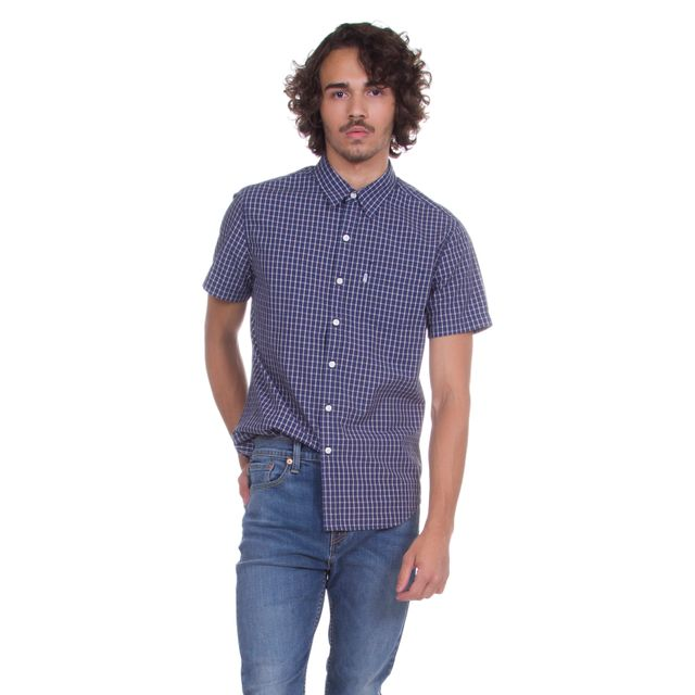 Camisa-Levis-Short-Sleeve-Classic-One-Pocket