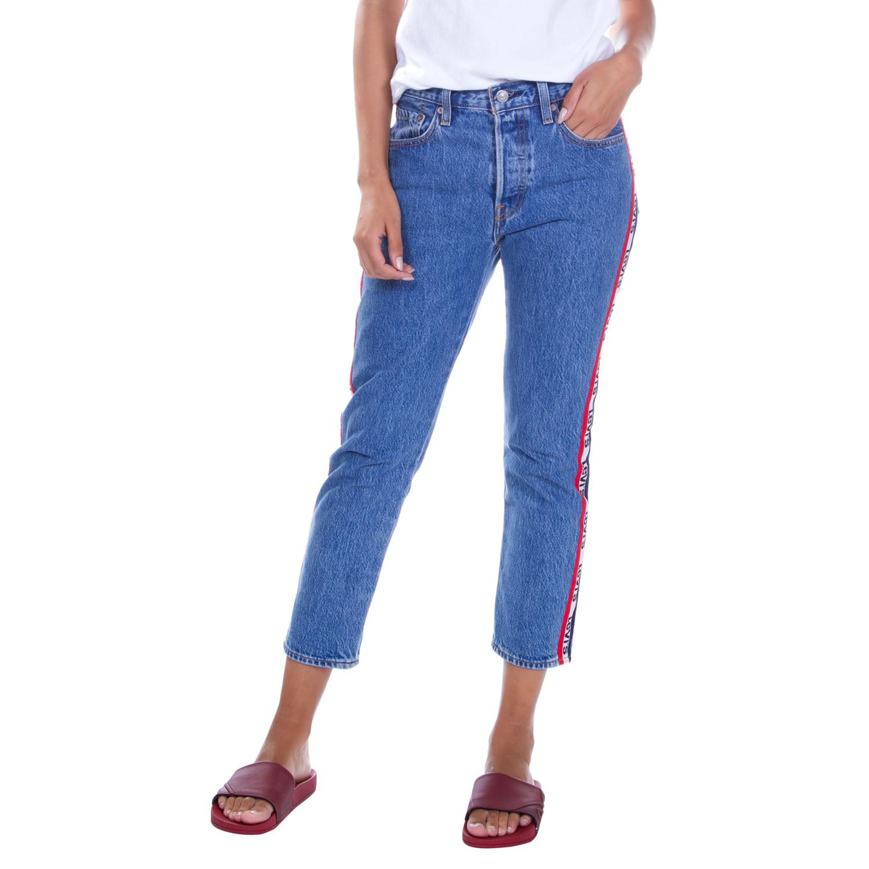 ba0be5dbb3970 Calça Jeans Levis 501 Original For Women Crop - lojalevis