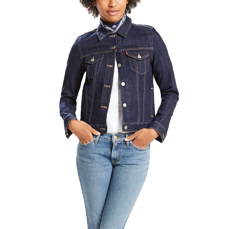 ee7a15fe27815 Jaqueta Jeans Levis Trucker Original - lojalevis