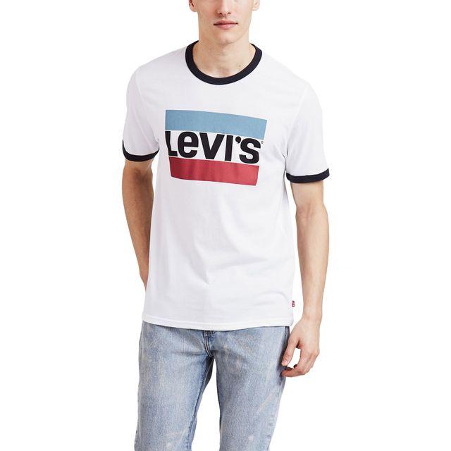 Camiseta-Levis-Logo-Sportswear-Retro