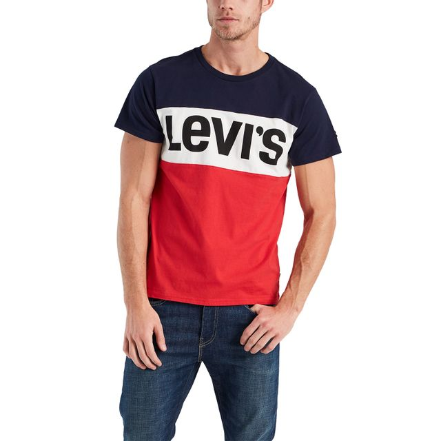 Camiseta-Levis-Colorblock