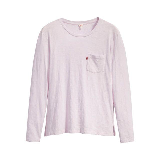 Camiseta-Levis-Perfect-Long-Sleeve-Crew-Pocket
