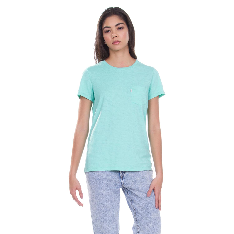 f3ab00d69e Camiseta Levis Perfect Pocket Crew - lojalevis