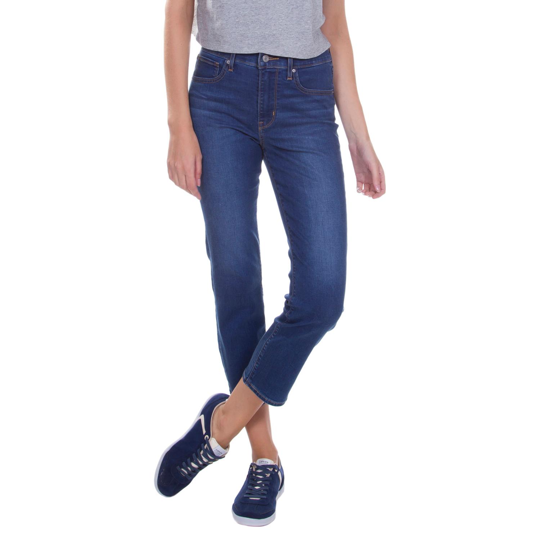 Calça Jeans Levis 724 High Rise Straight Crop - lojalevis 14ff0737187