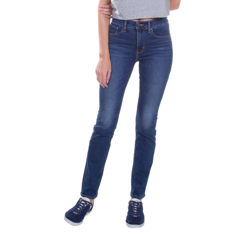 Calça Jeans Levis 724 High Rise Straight - lojalevis 5296ccd6591