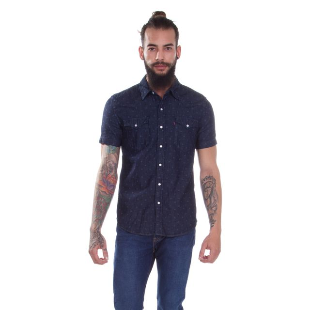 Camisa-Jeans-Levis-Short-Sleeve-Classic-Western