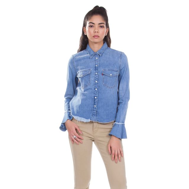 Camisa-Jeans-Levis-Celia-Ruffle