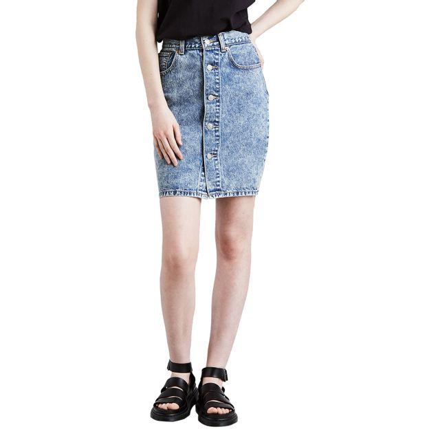 Saia-Jeans-Levis-Button-Thru