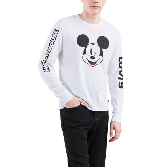 Camiseta-Levis-Mickey