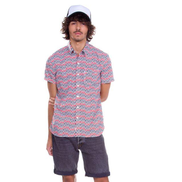 Camisa-Levis-Short-Sleeve-Sunset-One-Pocket