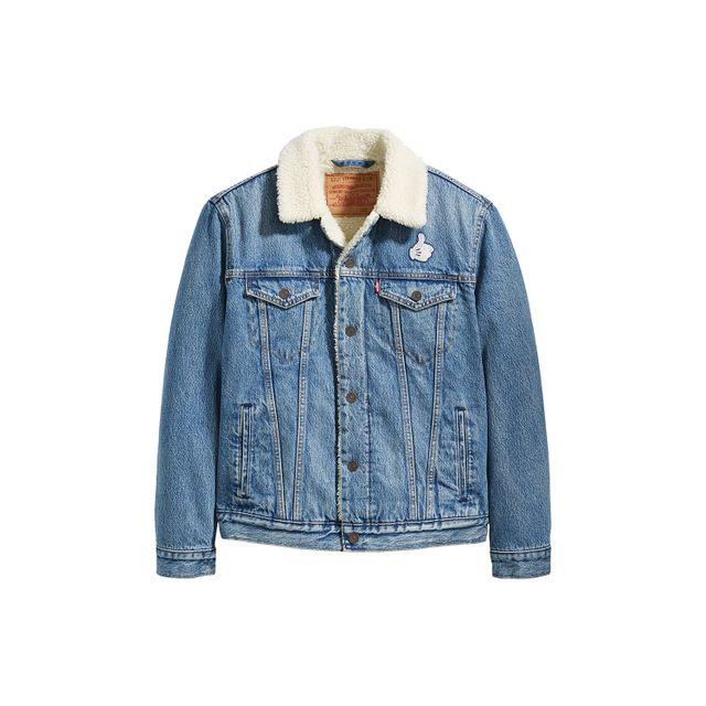 Jaqueta-Jeans-Levis-Trucker-Sherpa-Mickey