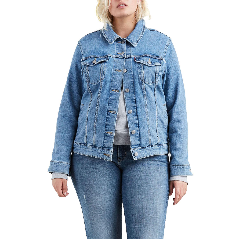 Jaqueta Jeans Levis Trucker Original Plus Size - lojalevis 08430df3796