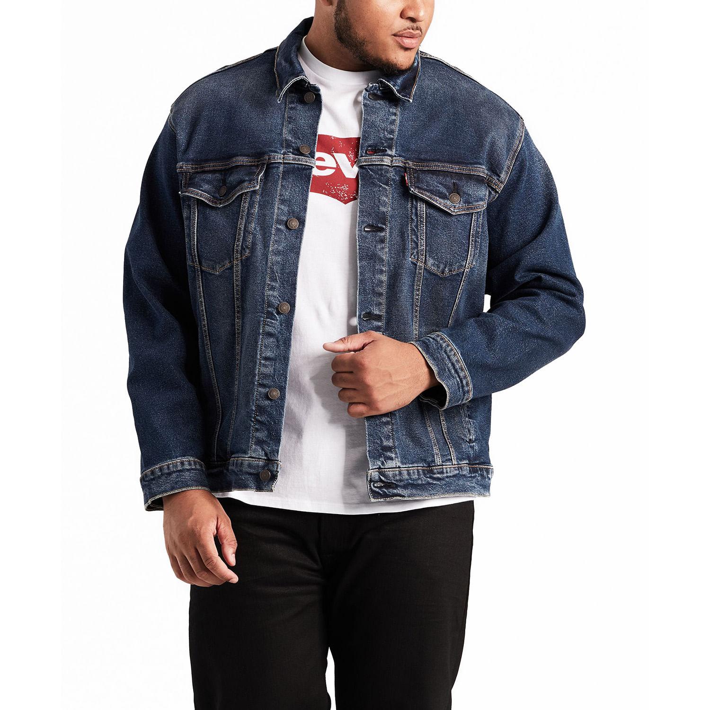 Jaqueta Jeans Levis Trucker B T (Plus Size) - lojalevis 3983ce17d6f