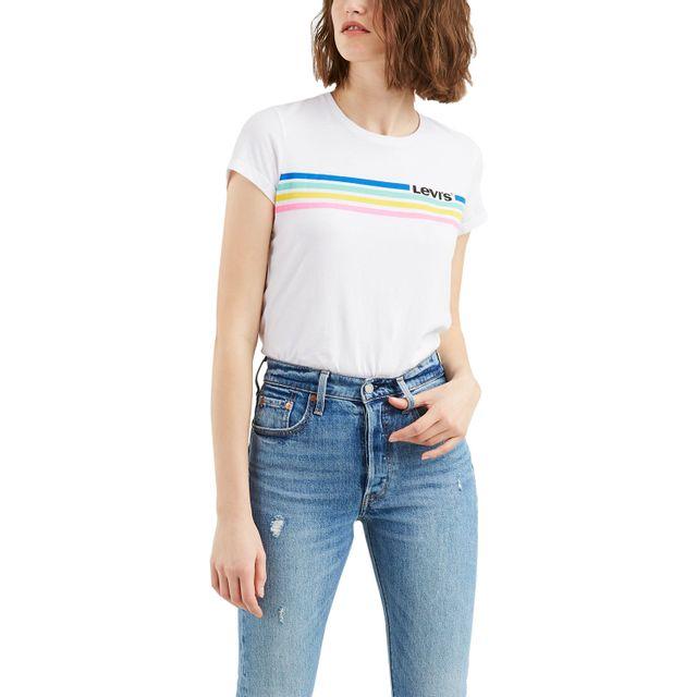 Camiseta-Feminina-Manga-Curta-Levis