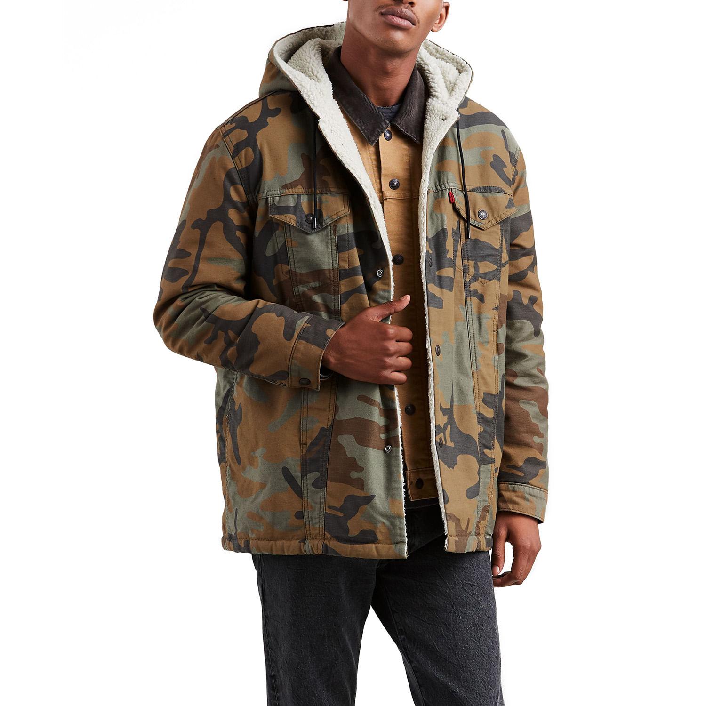 Jaqueta Levis X Justin Timberlake Sherpa Trucker Com Capuz - lojalevis  1f420ac750da8b  Casaco Masculino Jaqueta Jeans ... 90a87c64e1425