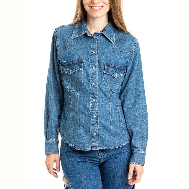 Camisa Jeans Levis Susana Western