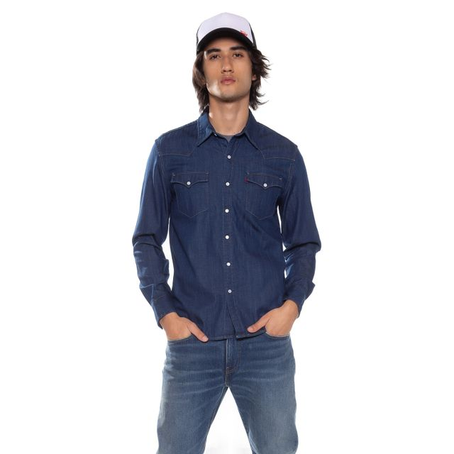 Camisa-Jeans-Levis-Classic-Western
