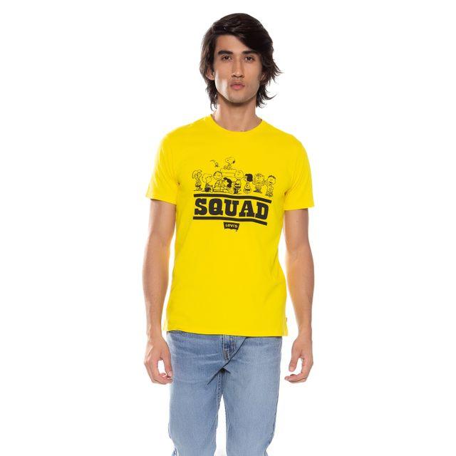 Camiseta-Levis-Squad-Snoopy