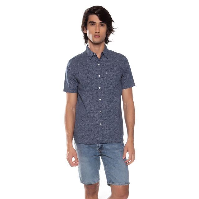 Camisa-Levis-Short-Sleeve-Sunset-One-Pocket