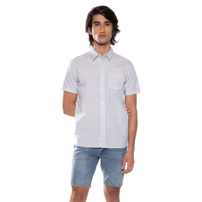 c5cfe539586d0 Camisa Levis Short Sleeve Sunset One Pocket - lojalevis