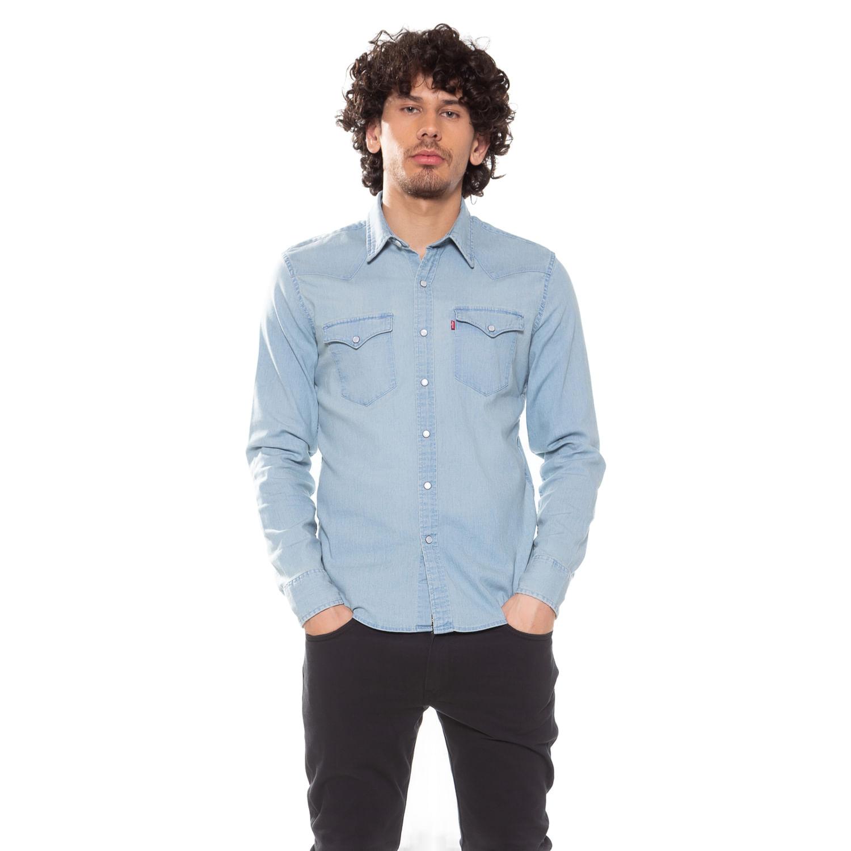 5256b56c5d Camisa Jeans Levis Classic Western - lojalevis