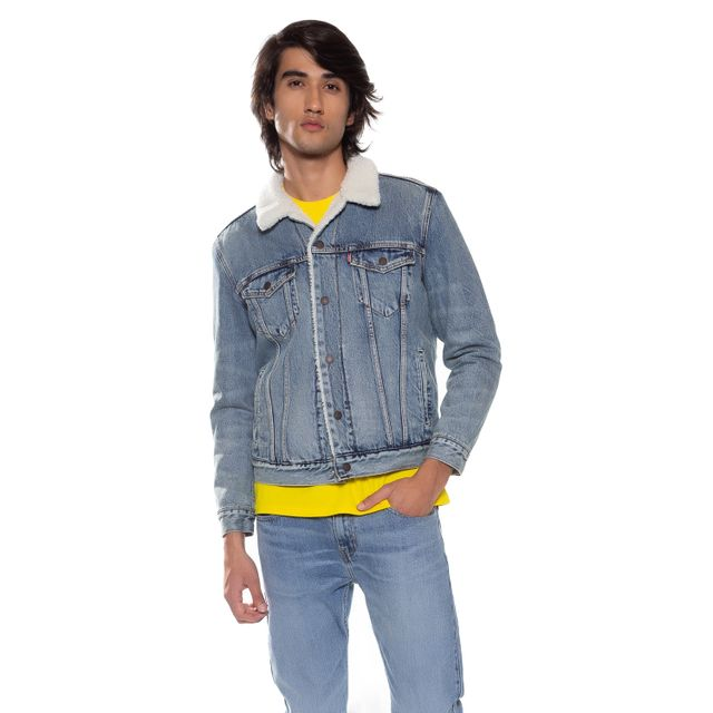 Jaqueta-Jeans-Levis-Type-3-Sherpa-----------