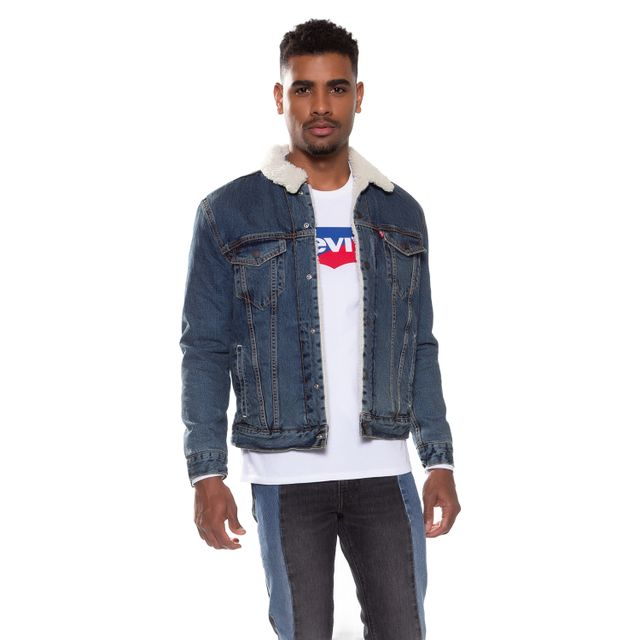 Jaqueta-Jeans-Levis-Type-3-Sherpa----- d96f2b9d731