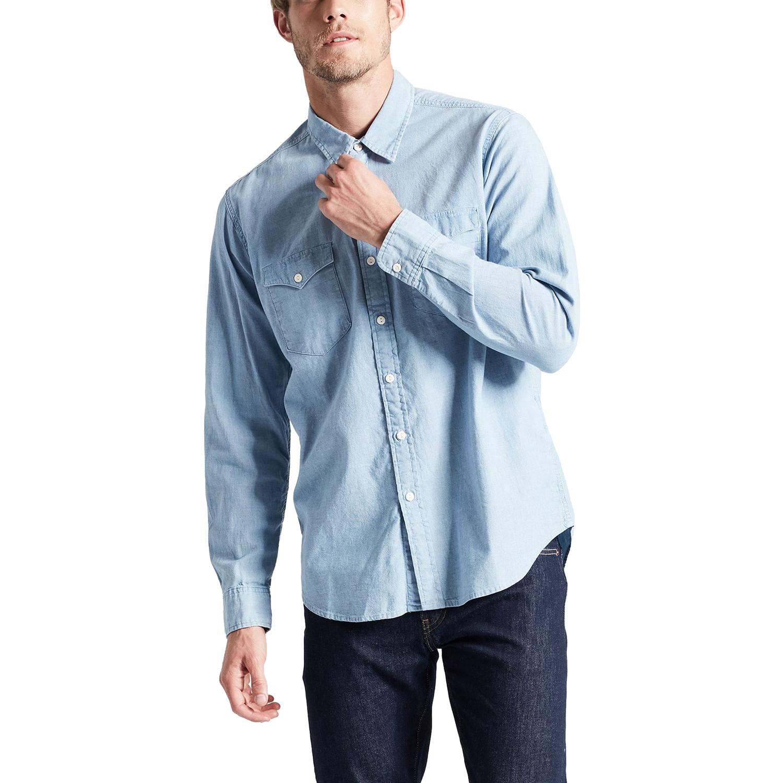 3952751c76 Camisa Jeans Levis Modern Classic Western - lojalevis