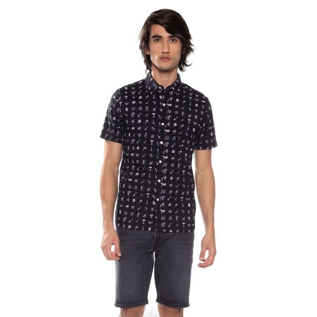 Camisa-Levis-Short-Sleeve-Pacific-No-Pocket----------------XL
