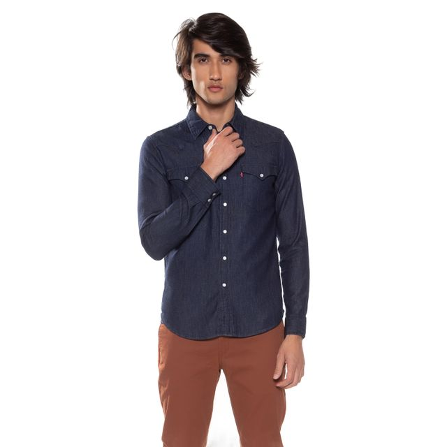 Camisa-Jeans-Levis-Classic-Western---XXL