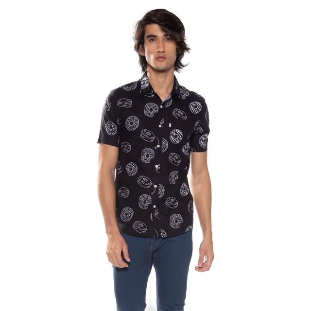 Camisa-Levis-Short-Sleeve-Classic-One-Pocket---S