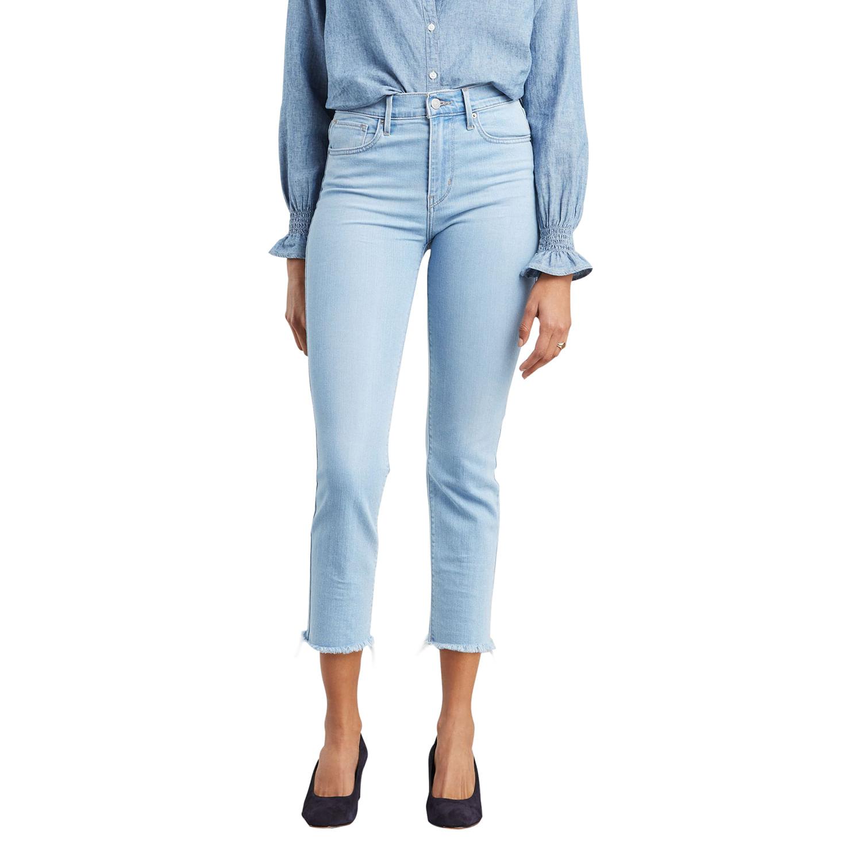 5ef512257 Calça Jeans Levis 724 High Rise Straight Crop - lojalevis
