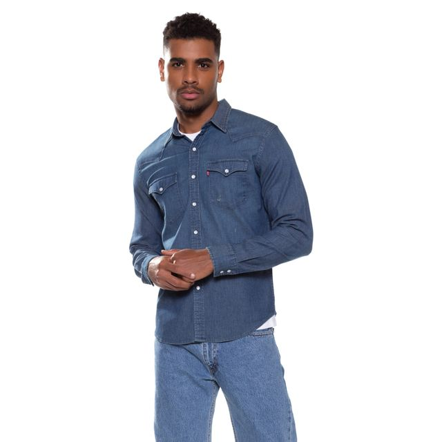 Camisa-Jeans-Levis-Classic-Western---L