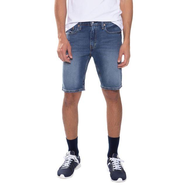 Bermuda-Jeans-Levis-502-Taper-Hemmed---36