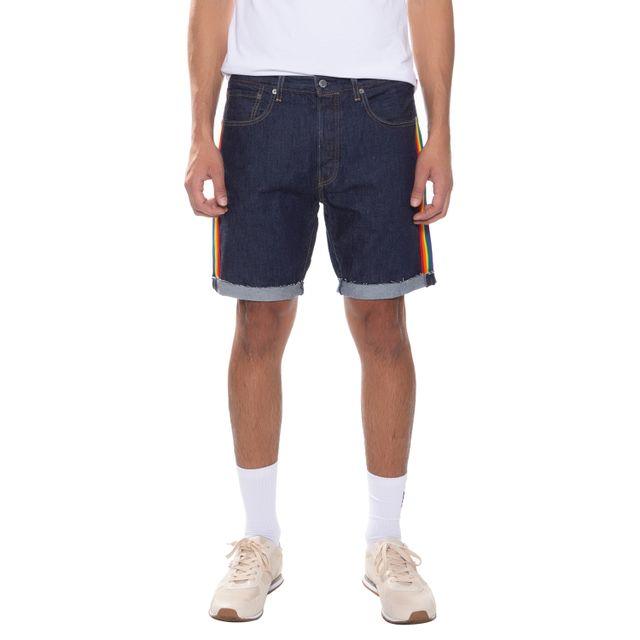 Bermuda-Jeans-Levis-501-Taper-Cut-Off-Pride---34