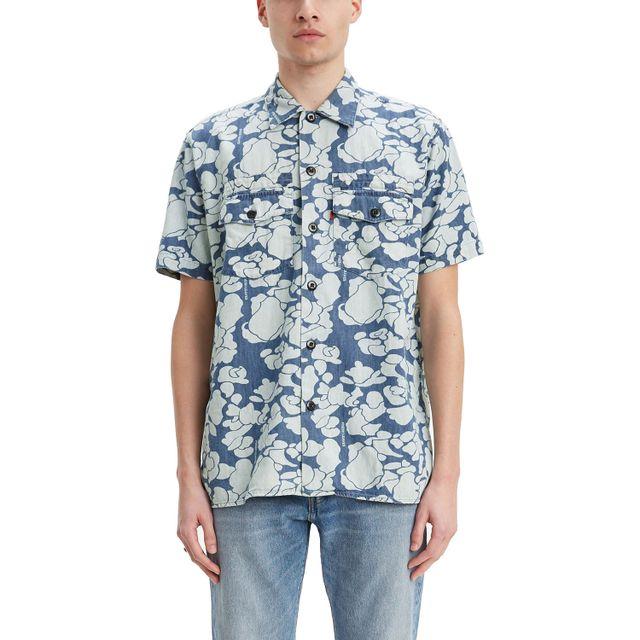 Camisa-Levis-Short-Sleeve-Military-Justin-Timberlake