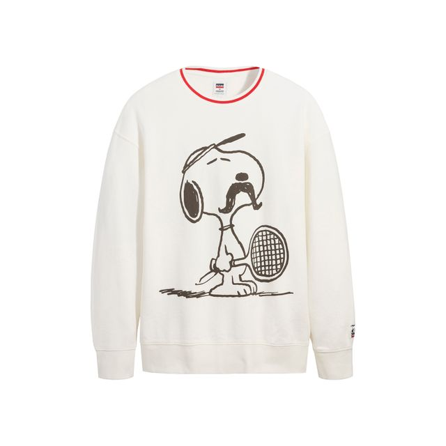 Moletom-Levis-Snoopy-Relaxed-Crew---L