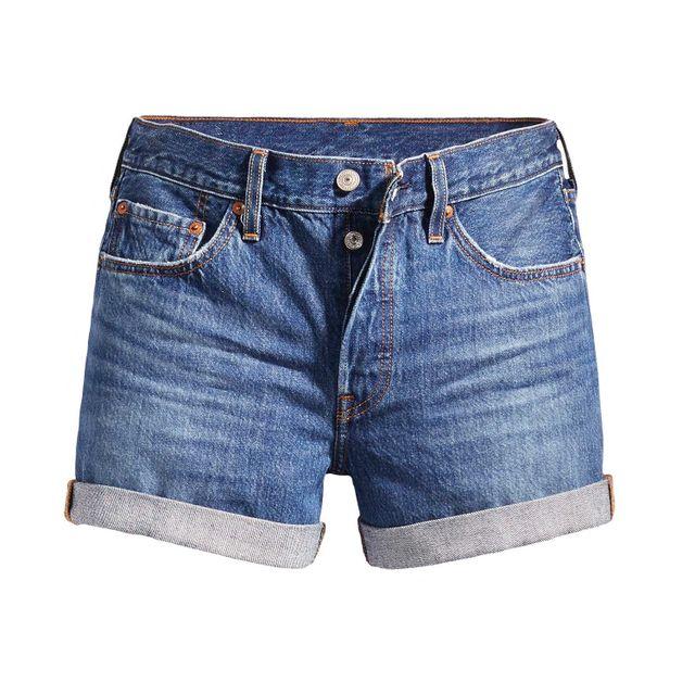 Shorts-Jeans-Levis-501-Longo