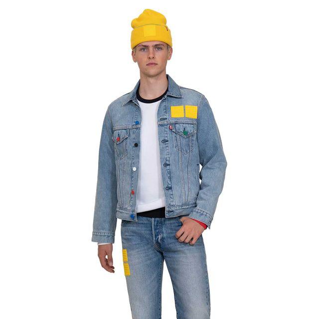 Jaqueta-Jeans-Levis-Vintage-Fit-Trucker-Lego